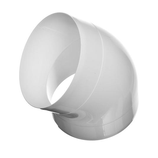 Колена круглые поворотные ККП 45°