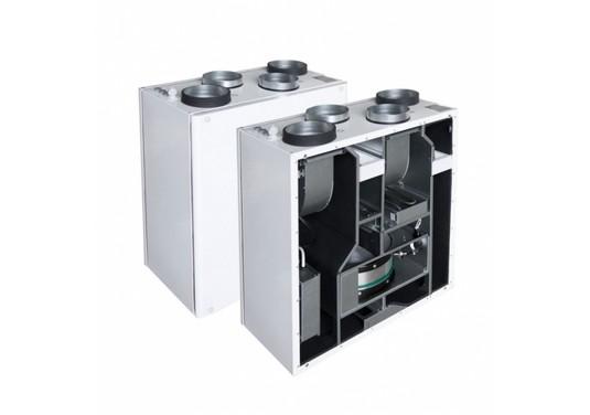 Компактные приточно-вытяжные установки с роторным рекуператором тепла Smarty R