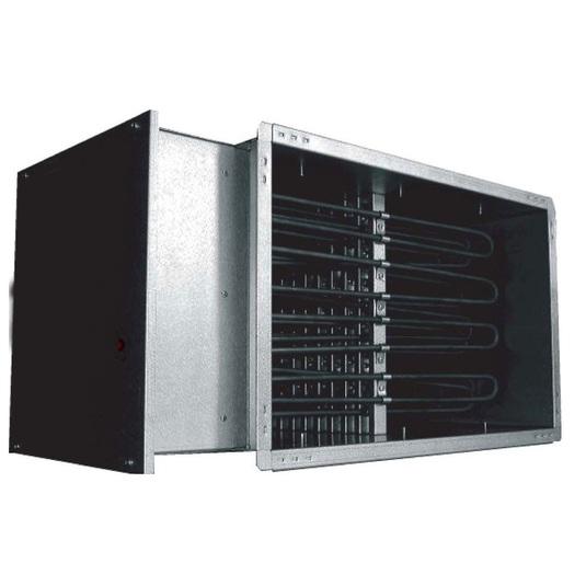 Прямоугольные канальные электрические нагреватели EKS NV